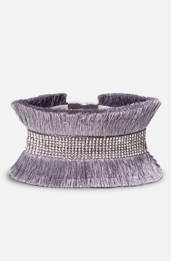 labelrose – bra00004 bracciale josefa 9,95 grigio