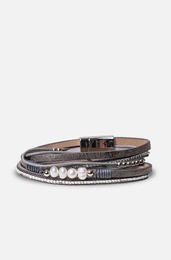 labelrose – bra00009 bracciale jovinta 9,95 grigio
