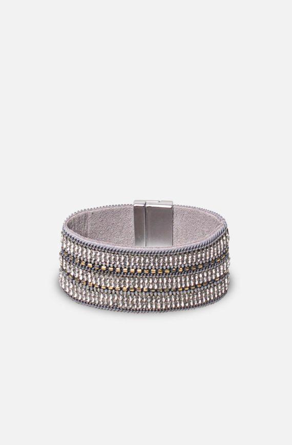 labelrose – bra00011 bracciale micaela 9,95 grigio